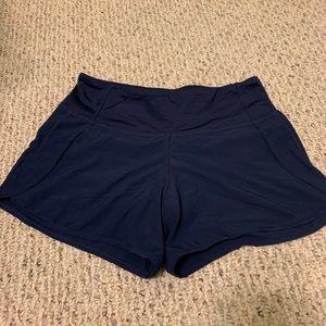 NWOT Lululemon navy shorts